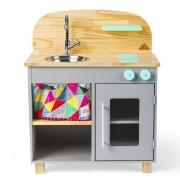 Mini Cozinha - Cinza