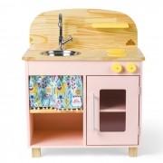 Mini Cozinha - Rosa | Ateliê Materno