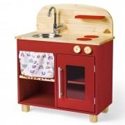Mini Cozinha - Vermelha | Ateliê Materno