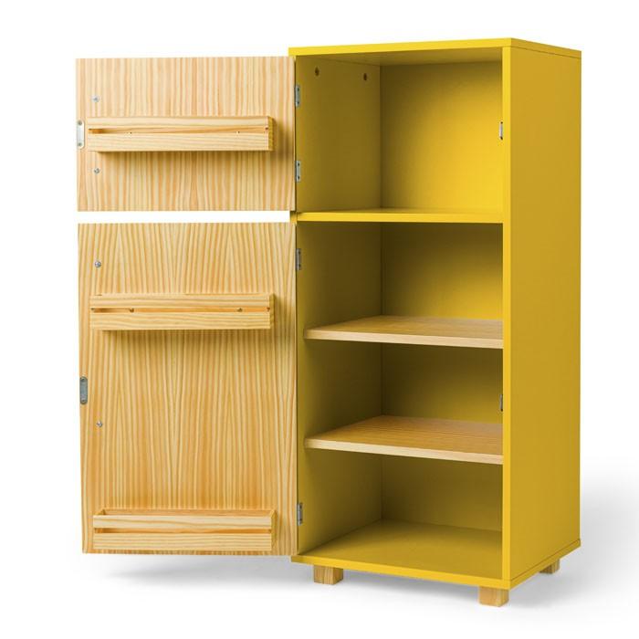 Kit Cozinha Compacta e Geladeira - Cora | Ateliê Materno