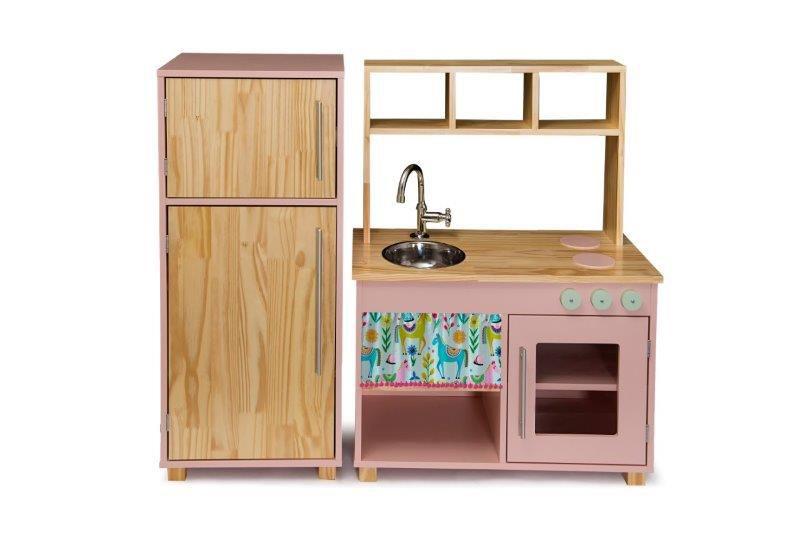 Kit Cozinha Compacta e Geladeira - Elis