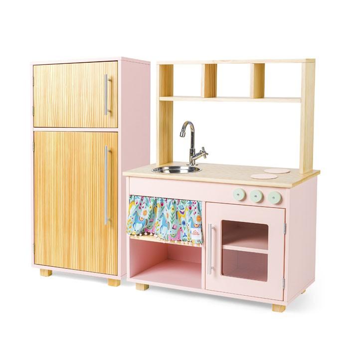 Kit Cozinha Compacta e Geladeira - Elis | Ateliê Materno