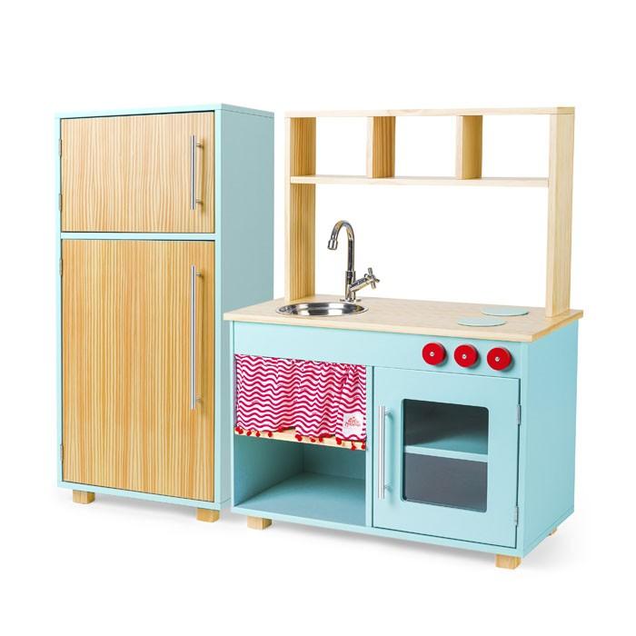 Kit Cozinha Compacta e Geladeira - Lina | Ateliê Materno