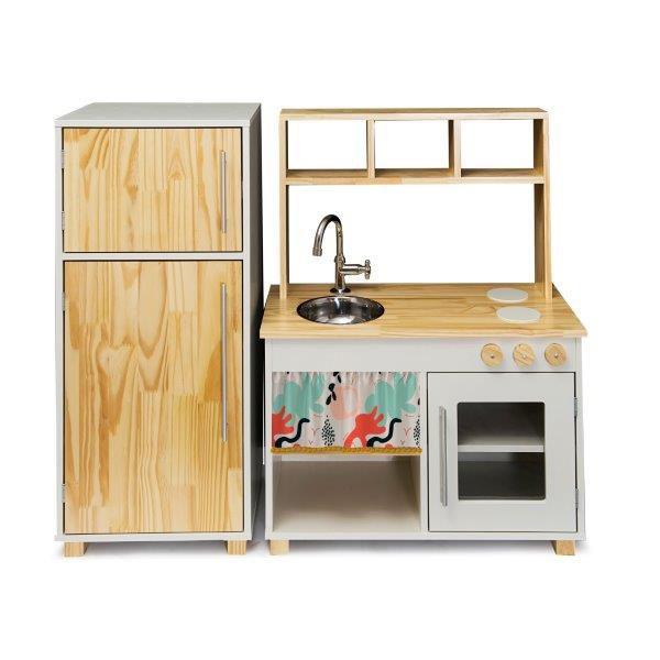 Kit Cozinha Compacta e Geladeira - Lola