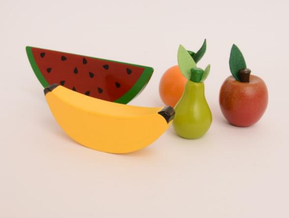 Frutinhas sem corte em Madeira | Ateliê Materno