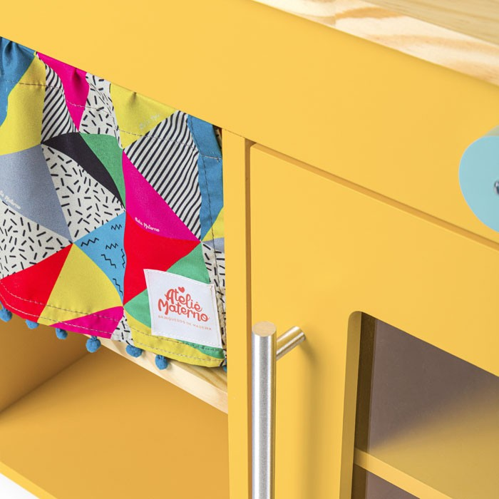Mini Cozinha - Amarela | Ateliê Materno