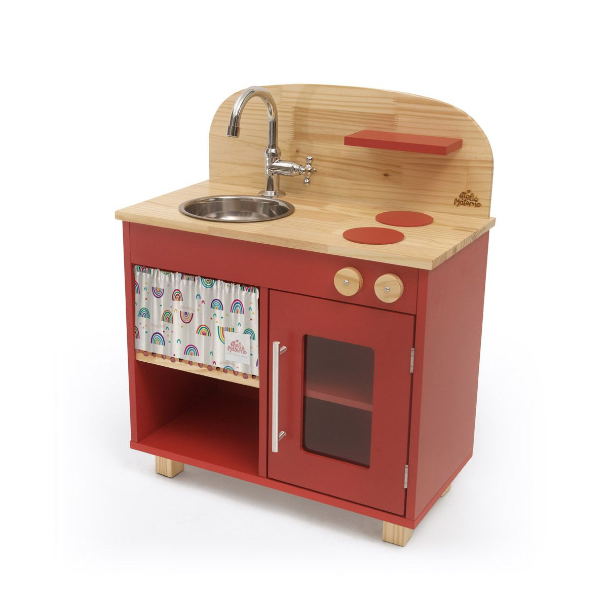 Mini Cozinha - Vermelha