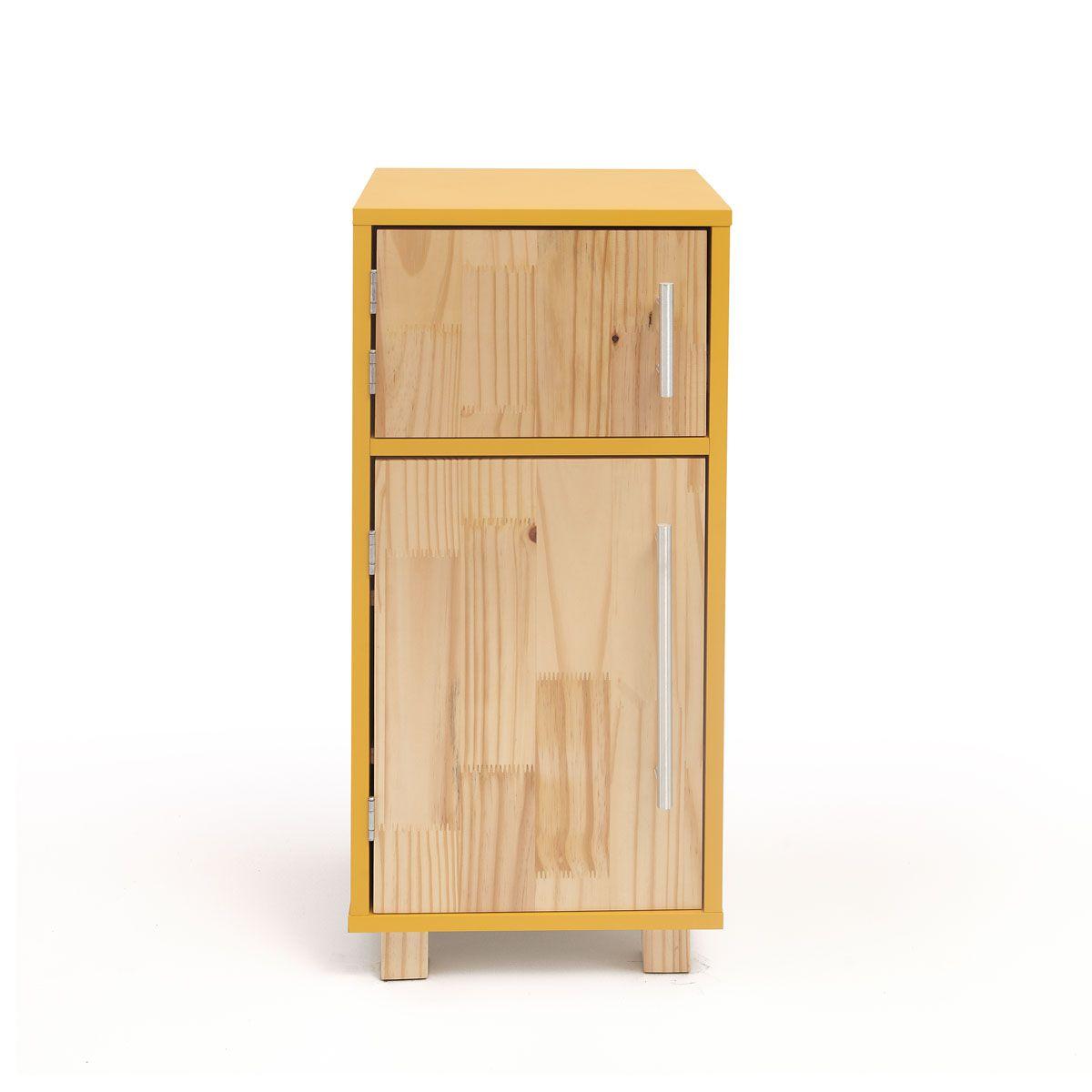 Mini Geladeira - Amarela