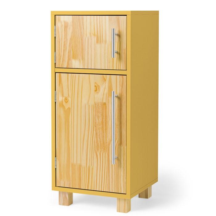 Mini Geladeira - Amarela | Ateliê Materno