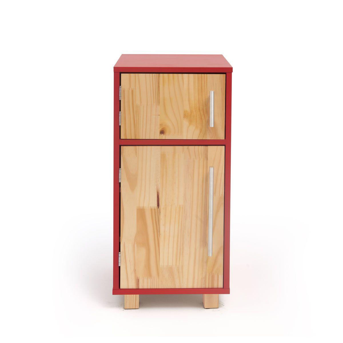 Mini Geladeira - Vermelha