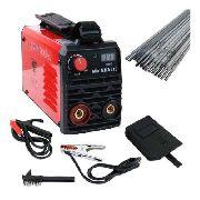 Maquina Inversora P/ Solda Digital Mini Mma 210 USK 127/220V Bivolt Completa
