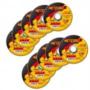 Disco de Corte Fino de Aço Inox 4.1/2 Pol. - 115 x 1.0 x 22mm - METEORO