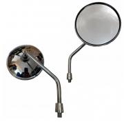 Espelho Retrovisor Cromado P/ Motocicleta Mod. Intruder REF.: SLYCK-91217