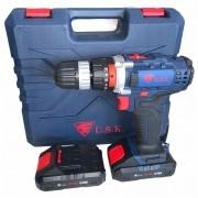 Furadeira Parafusadeira Com Impacto 21V Com 2 Baterias 1.5Ah MAX08-21V