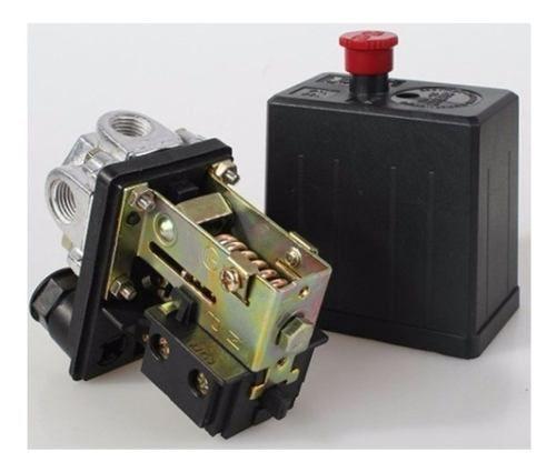 Pressostato Automatico P/ Compressor De Ar Bipolar Pressão 80/120 PSI