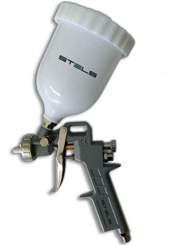 Kit Pistola P/ Pintura Stels Bico 1.2 1.5 E 1.8 600ml Profissional