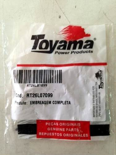 Embreagem P/ Roçadeira Gasolina 26cc Toyama Tekna Nagano Outras
