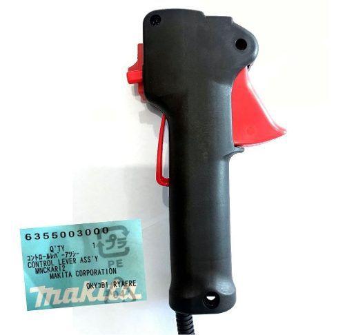 Punho Acelerador Completo P/ Roçadeira Makita RBC411/412 Original Makita