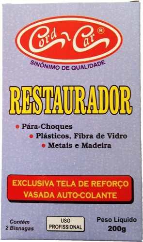 Kit Cola Restauradora Epoxi P/ Colar Plastico Metais Madeira Fibra Cord Car