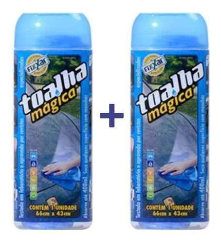 Kit Toalha Magica Fixxar Original C/ 2 Unidades Limpa Seca