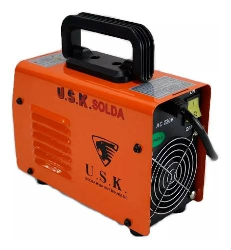 Maquina Solda Inversora Digital 223 C/ Eletrodo 220v Completo