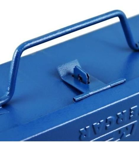 Kit Caixa P/ Ferramentas C/ 5 Gavetas + Caixa P/ Furadeira C/ Organizador de Metal FERCAR