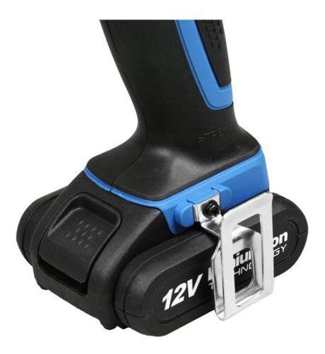 Furadeira Parafusadeira Wesco 12v 2 Baterias Bivolt Ws2502k2