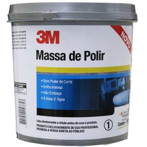 Massa De Polir 3m Numero 2 1kg + Wd 40