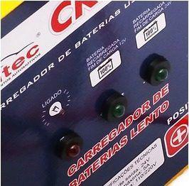 Carregador de Bateria Portátil 12/24V 5A Bivolt KITEC CK24A5