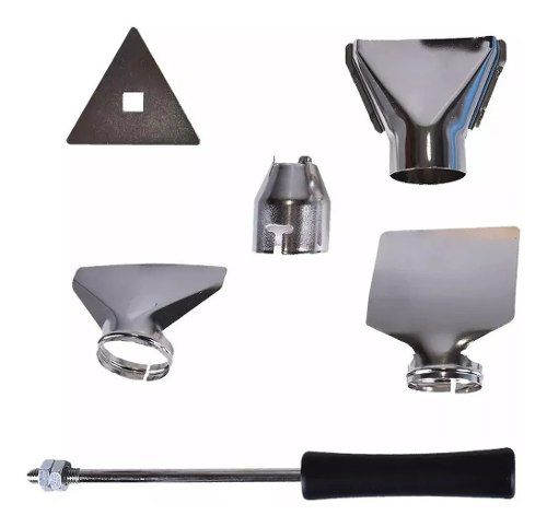 Soprador Termico 2000w Profissional Ws6427 Wesco 220v Com Bocais Acessorios Completo