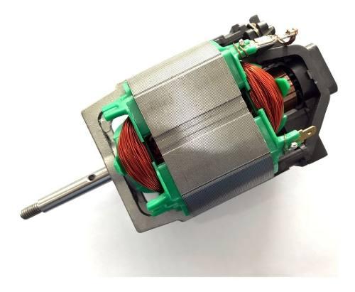 Motor Eletrico de Escova Universal 900w 127v P/ Aparador Grama Garthen Tekna Trapp