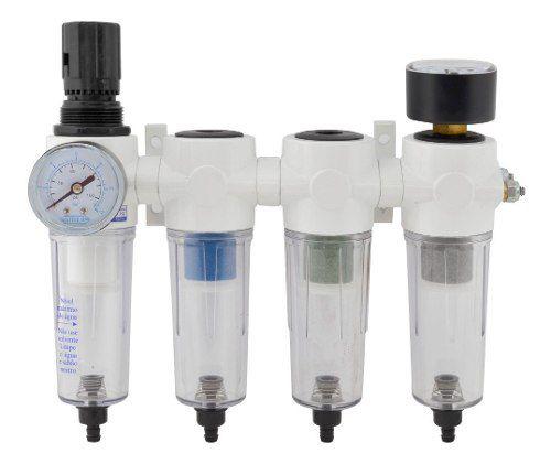 Filtro P/ Tratamento de Ar Conjunto Odontologico 4 Filtros Profissional Steula