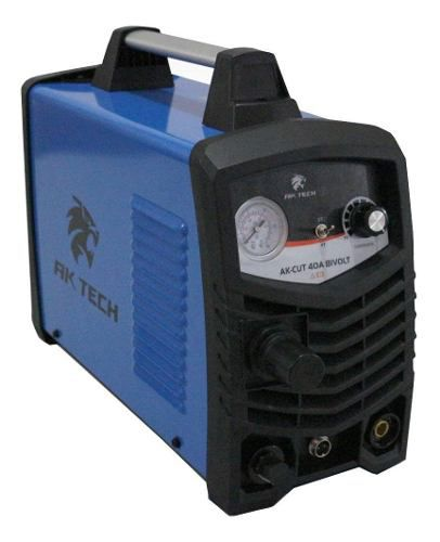 Maquina Profissional Corte Plasma 1 A 12mm AK-CUT 40 127/220V Bivolt USK
