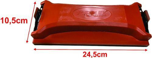 Taco Lixador Purplex Profissional Mod. 245 x 105mm