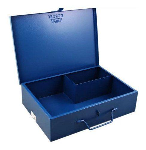 Caixa Bau Metal P/ Furadeira Martelete e Acessórios Makita Dewalt Wesco Kress Bosch