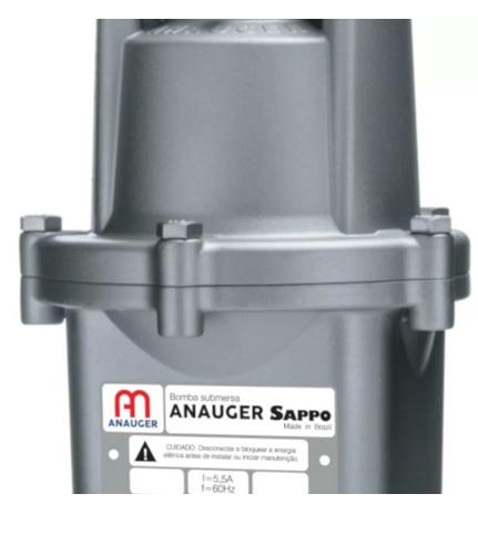 Bomba Submersa Vibratória para Poço 320W - ANAUGER-SAPPO-5G