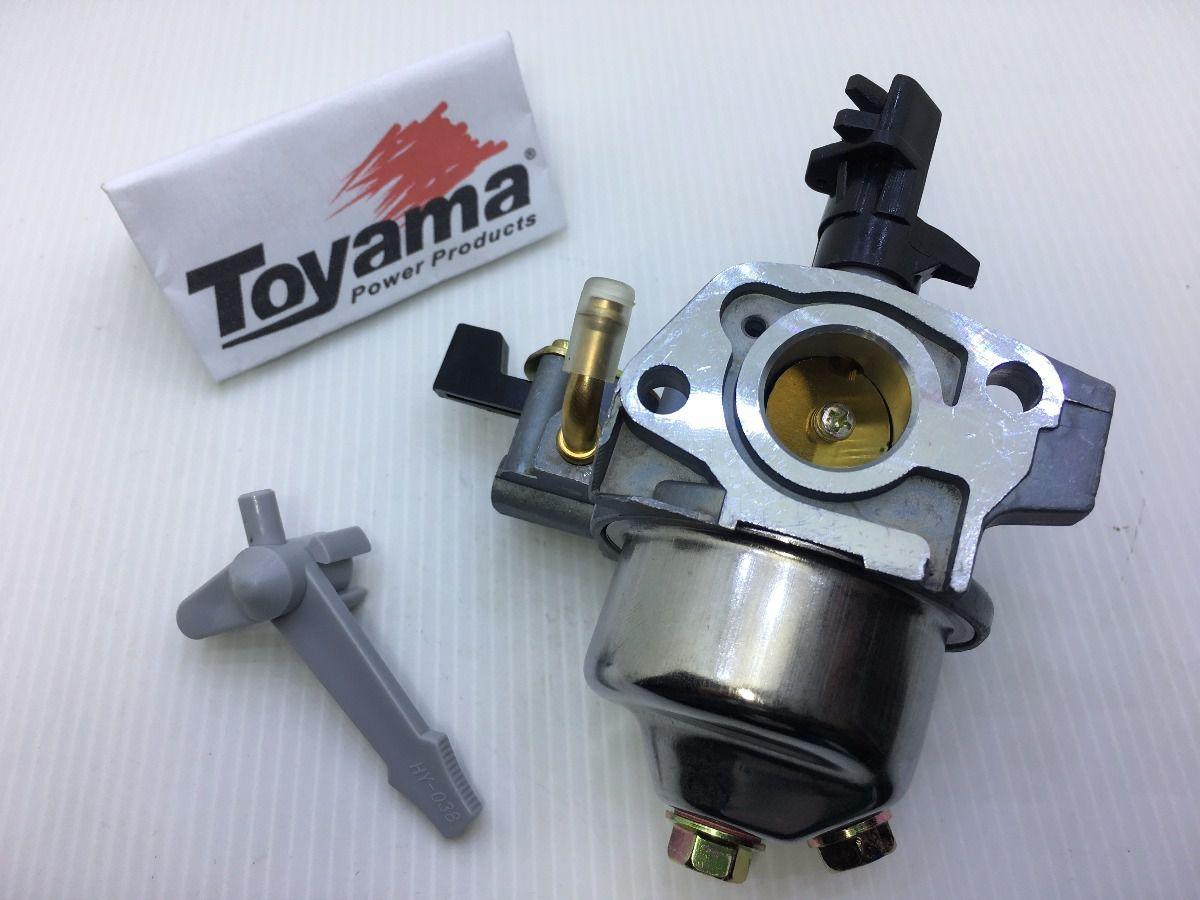Carburador Completo P/ Motor Estacionario Honda Tekna Branco Toyama 5.5cv
