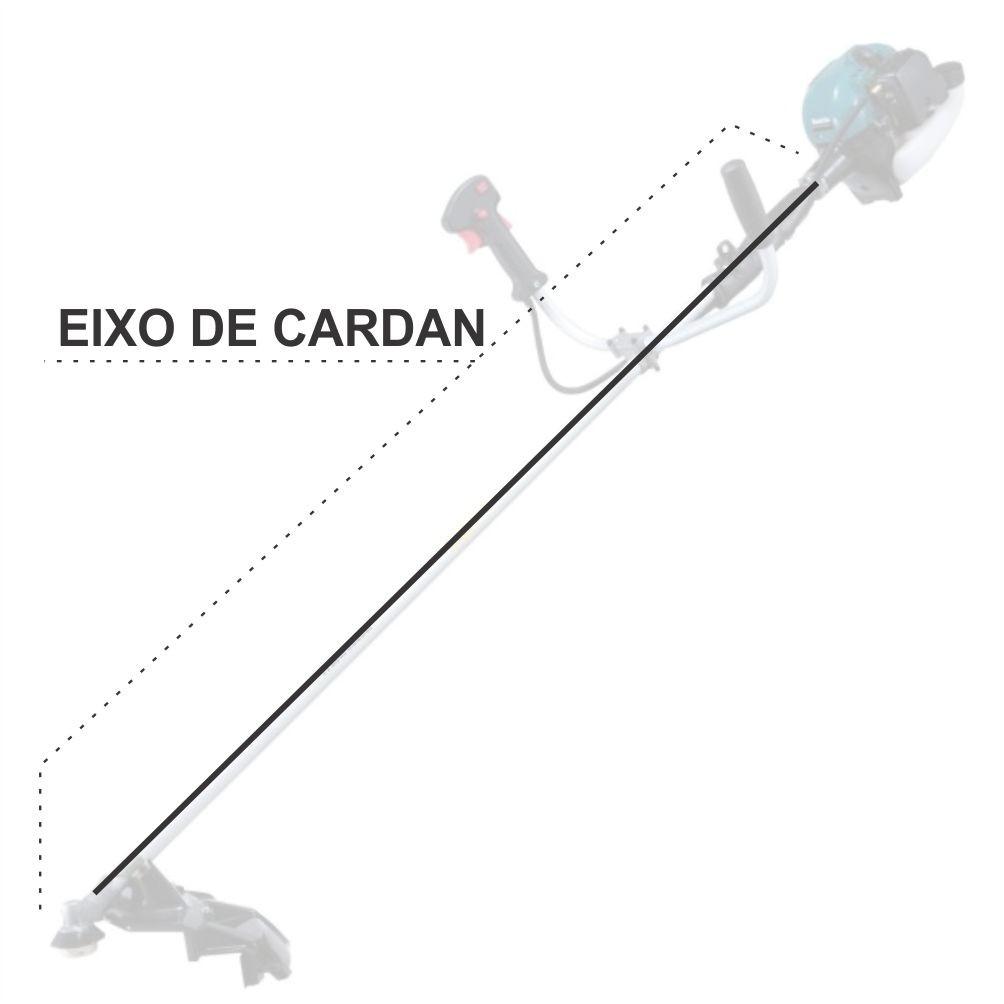 Eixo Cardan Rigido P/ Roçadeiras Makita RBC 250 / RBC2500 / RBC2510 / EN4950HG / EM4250 / EM2654LHG / EM2650UH / EM2650LH / EJ2650LHG / EE2650HG / EBH253UG / EBH253LG / EBH250U Original Cod.: 324893-4