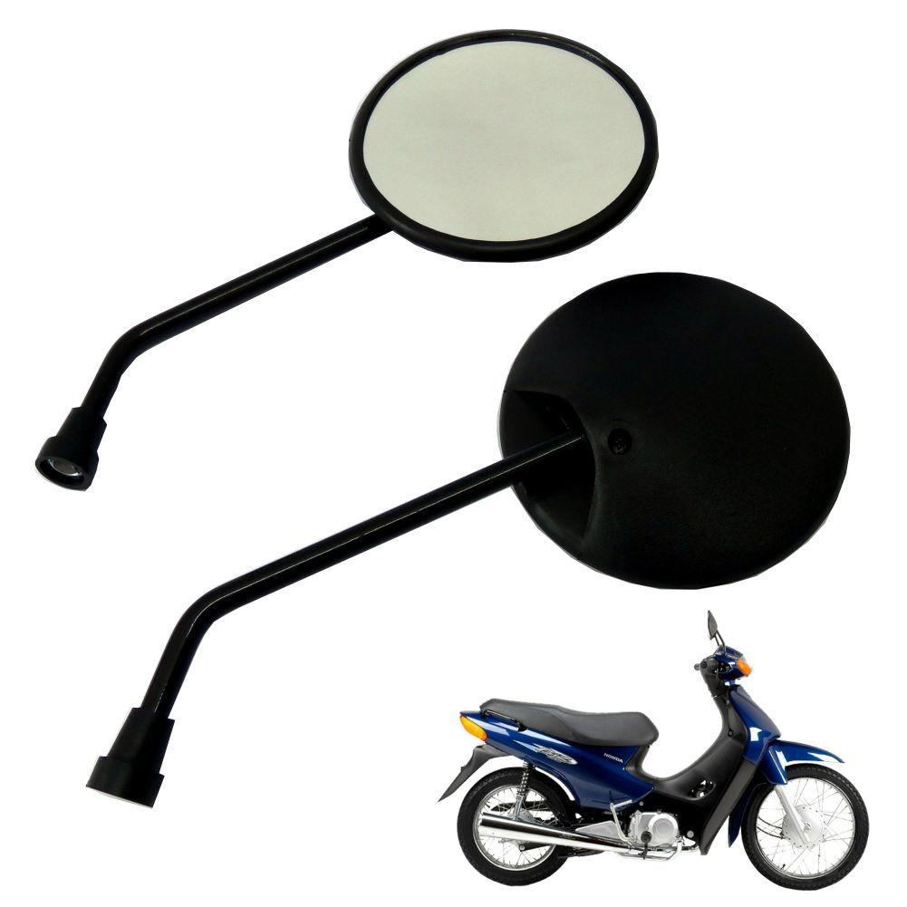 Espelho Retrovisor P/ Moto Honda Biz 100 Universal Modelo Original