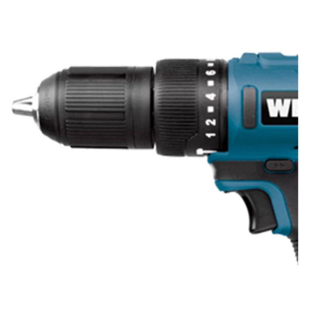 Furadeira Parafusadeira C/ Impacto 18V C/ 2 Baterias 1.5 Ah WESCO WS2937K2
