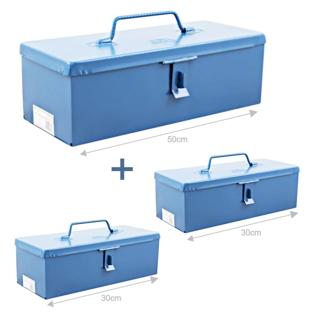 Kit Bau Metal P/ Ferramentas C/ 50cm e 2 unidades de 30cm Fercar