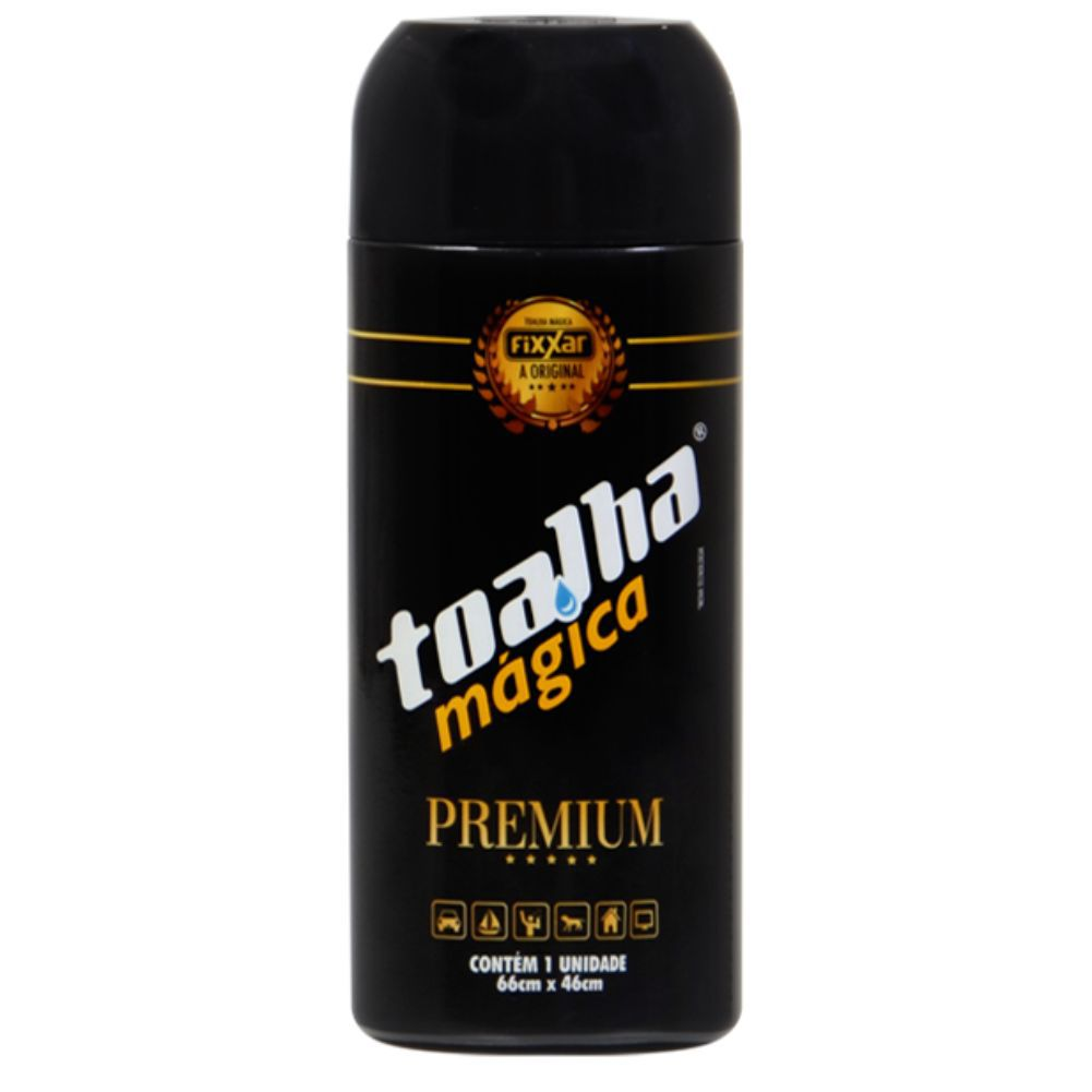 Kit Caixa Toalha Magica Premium Fixxar C/ 10 Unidades Original