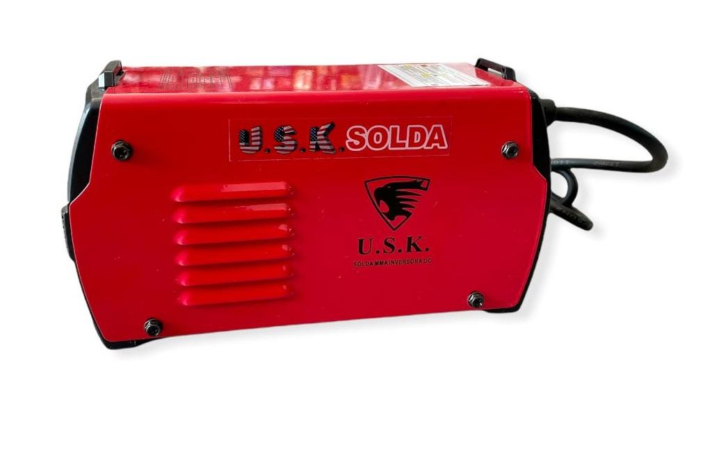 Kit de Solda Inverter Digital MMA-226 USK Bivolt 127/220v + Mascara Automatica Galzer c/ Regulagem KITUSK226BI+GALZER