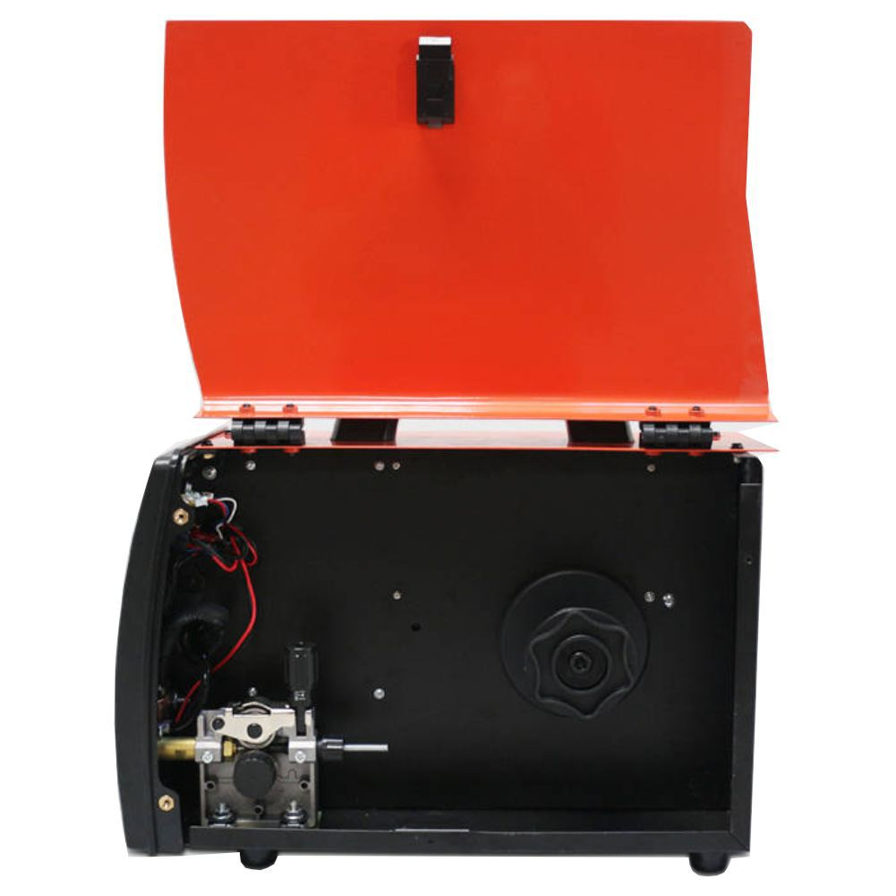 Kit Maquina De Solda Multiprocesso MMA MIG 250 220v USK + Mascara Automatica