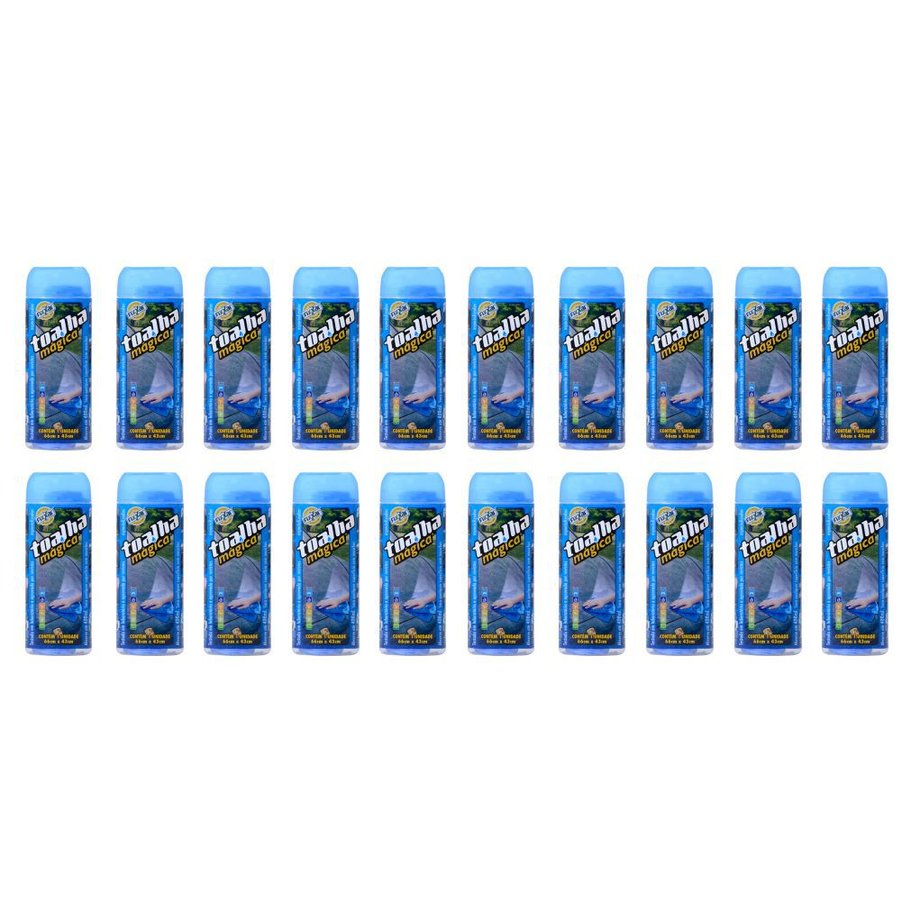 Kit Master Toalha Magica Fixxar C/ 20 Unidades Original