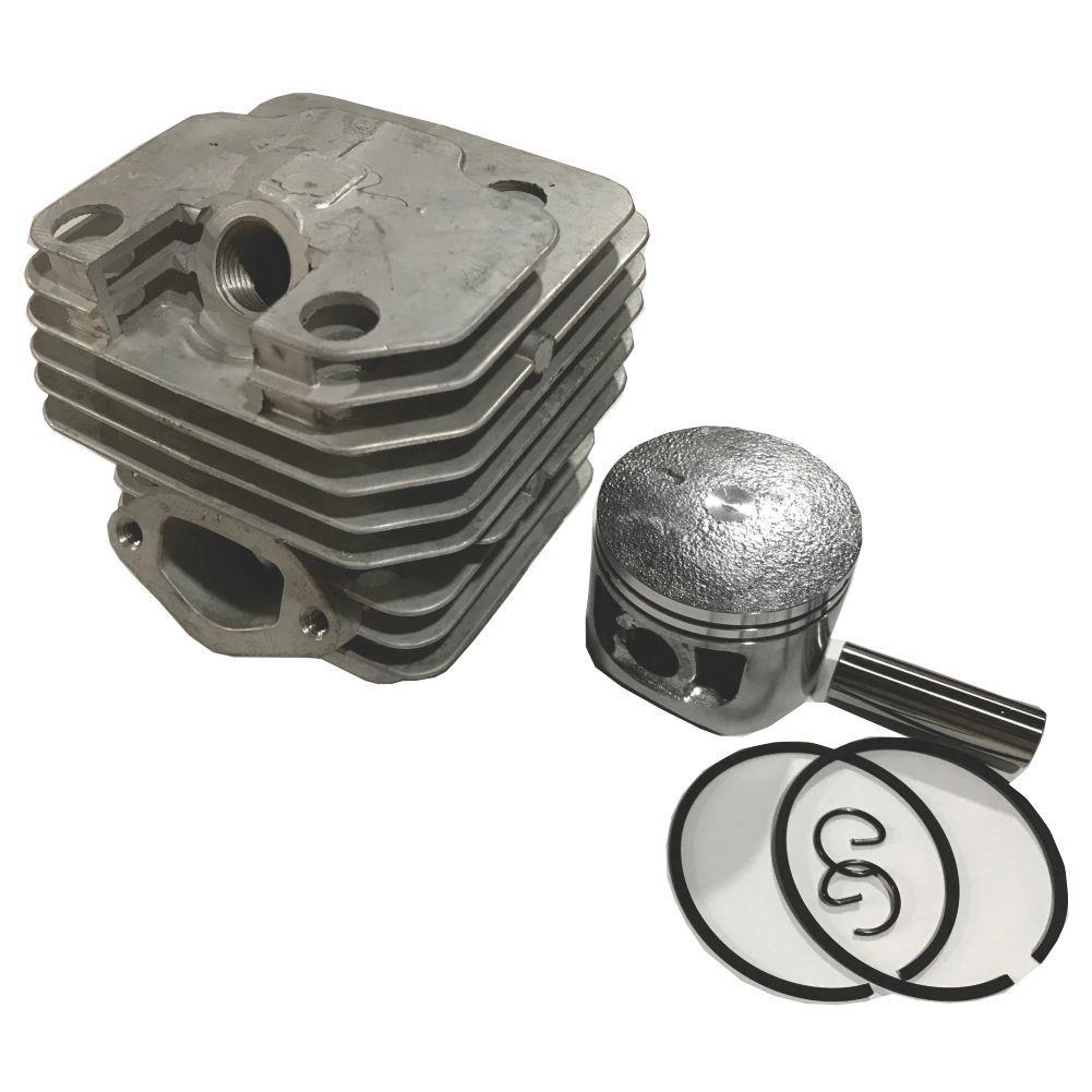 Kit Motor Cilindro + Pistão 43mm + Aneis P/ Motosserra CS46 / TCS46 Toyama Tekna Importadas
