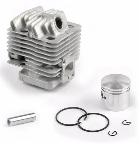 Kit Motor Cilindro + Pistão + Aneis P/ Roçadeira 26cc Tekna Toyama Vulcan Bandai Importadas
