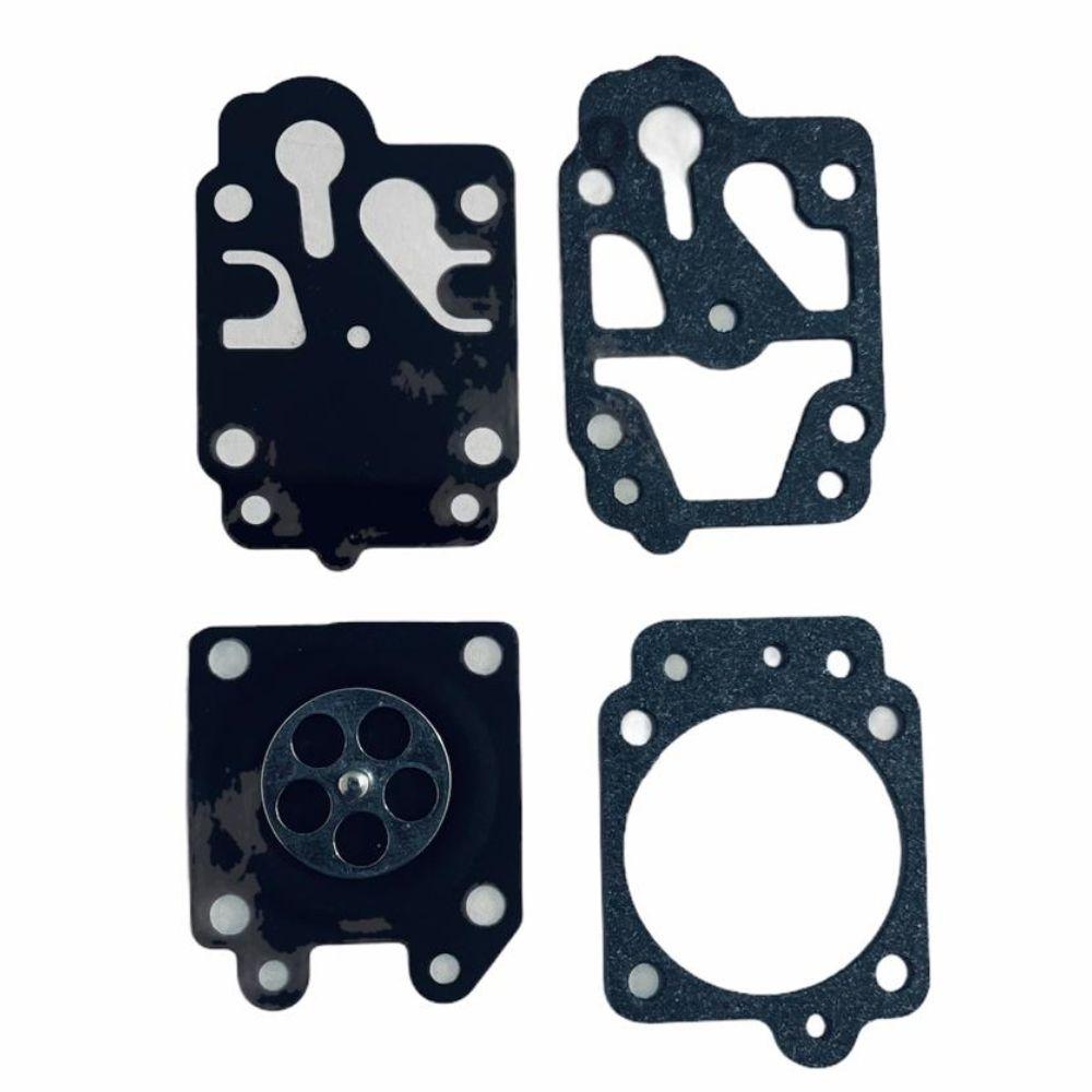Kit Reparo Membrana P/ Carburador de Roçadeiras Perfuradores Kawashima Toyama Tekna Terra Ref.: 43-14270