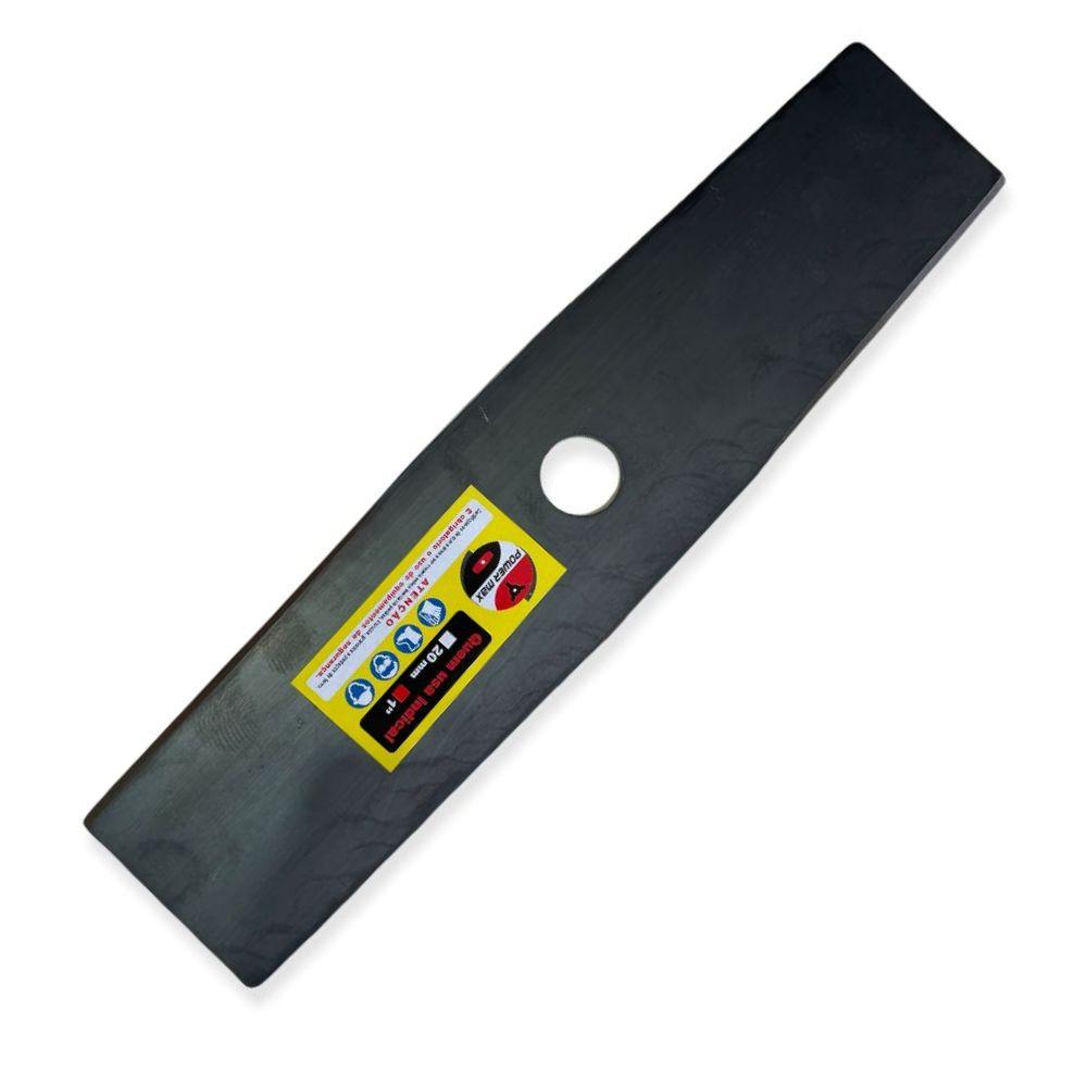 Lamina Faca P/ Roçadeiras a Combustão / Eletricas 350mm x 1,5mm x 1Pol POWERMAX-PM007