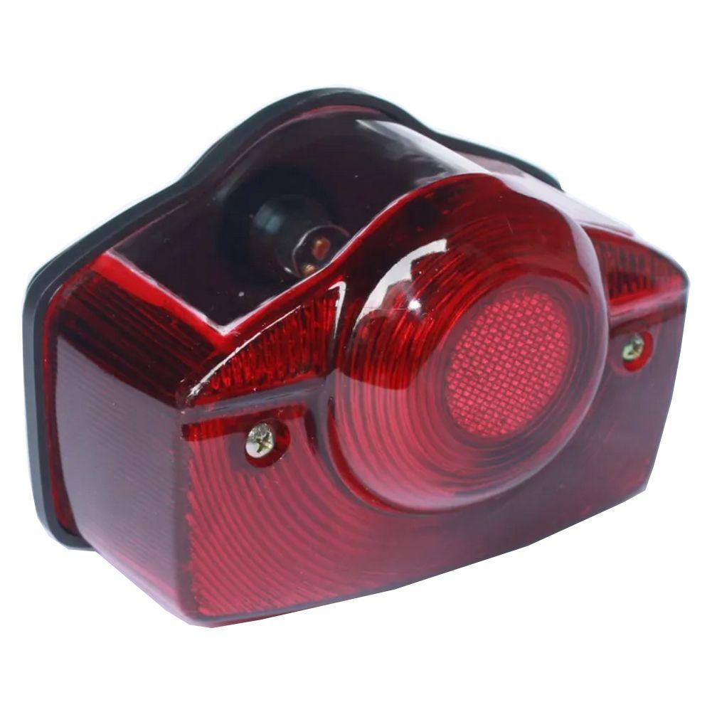 Lanterna Traseira Completa P/ Honda CG 1982 e Shine Ray 50